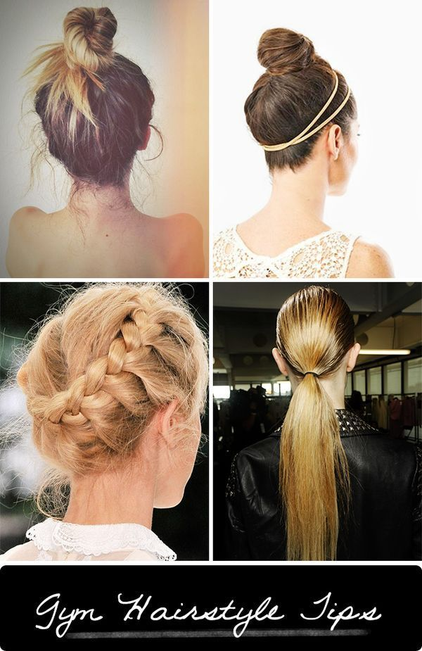 Great Gym Hairstyles How To Make Hair Stay Put During A Workout
