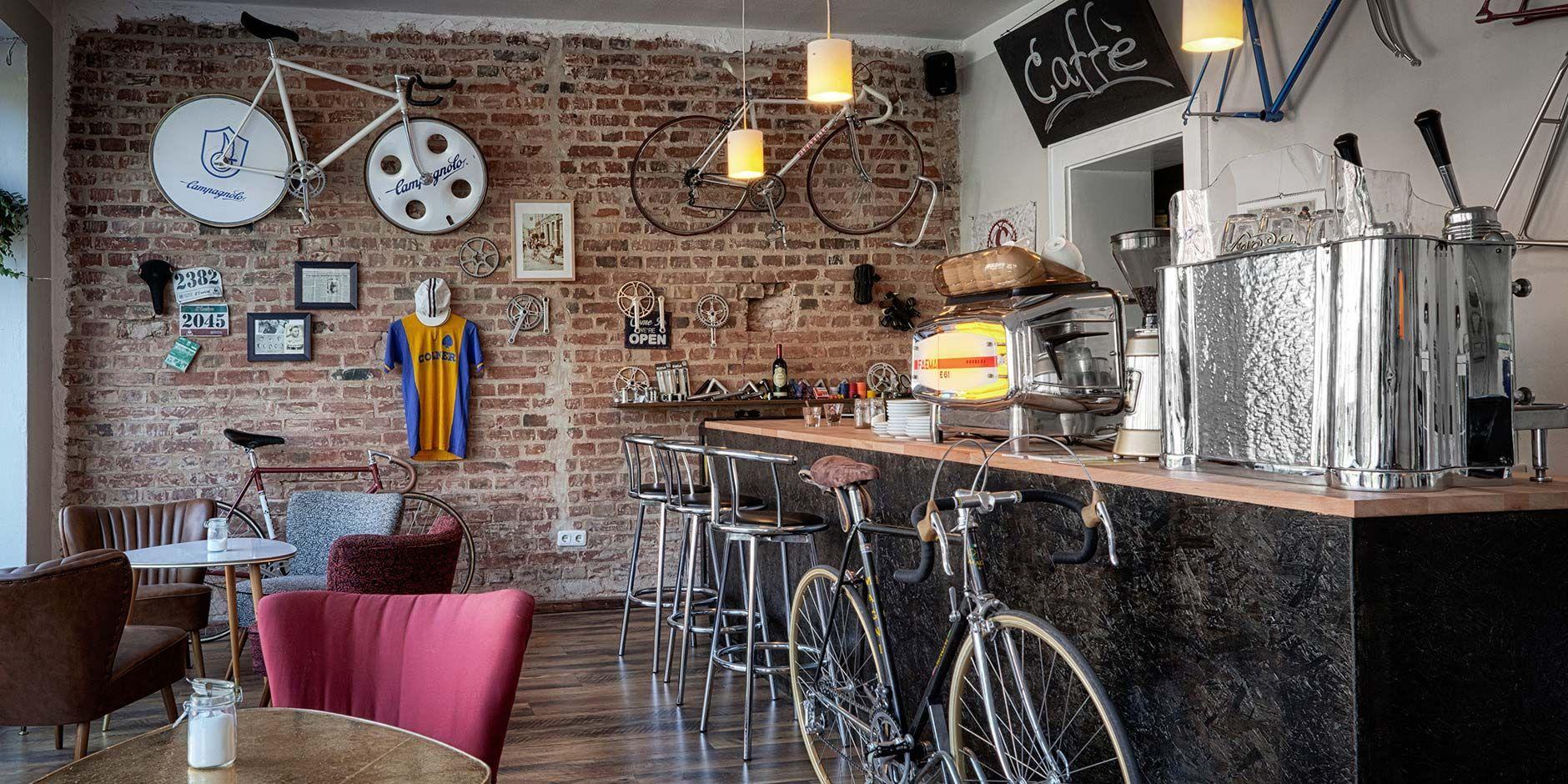 Blick Ins Cafe Cafe Eingang Nuremberg Nurnberg Bamberg Eingang