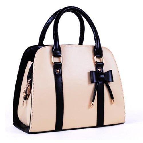 Fancy Bow Handbags Shoulder Tote Bag