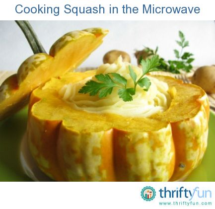 how to cook banana squash in the microwave