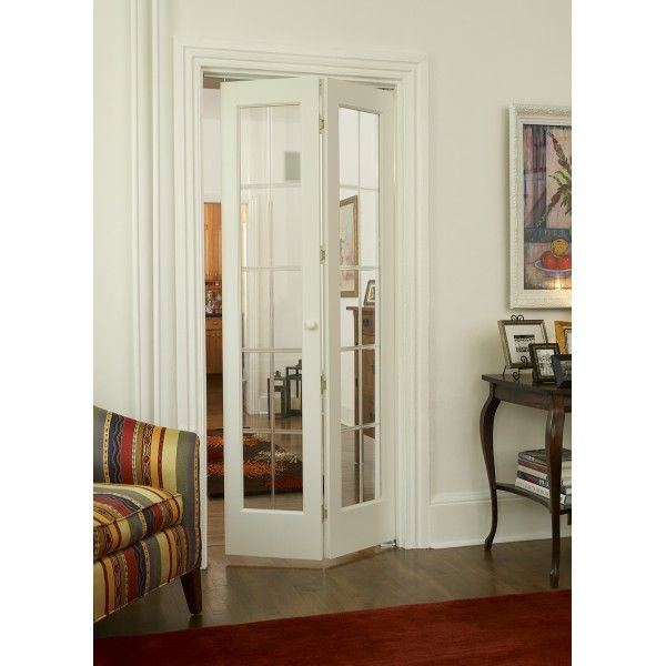 White bifold doors how to measure and install bifold - How to hang interior french doors ...