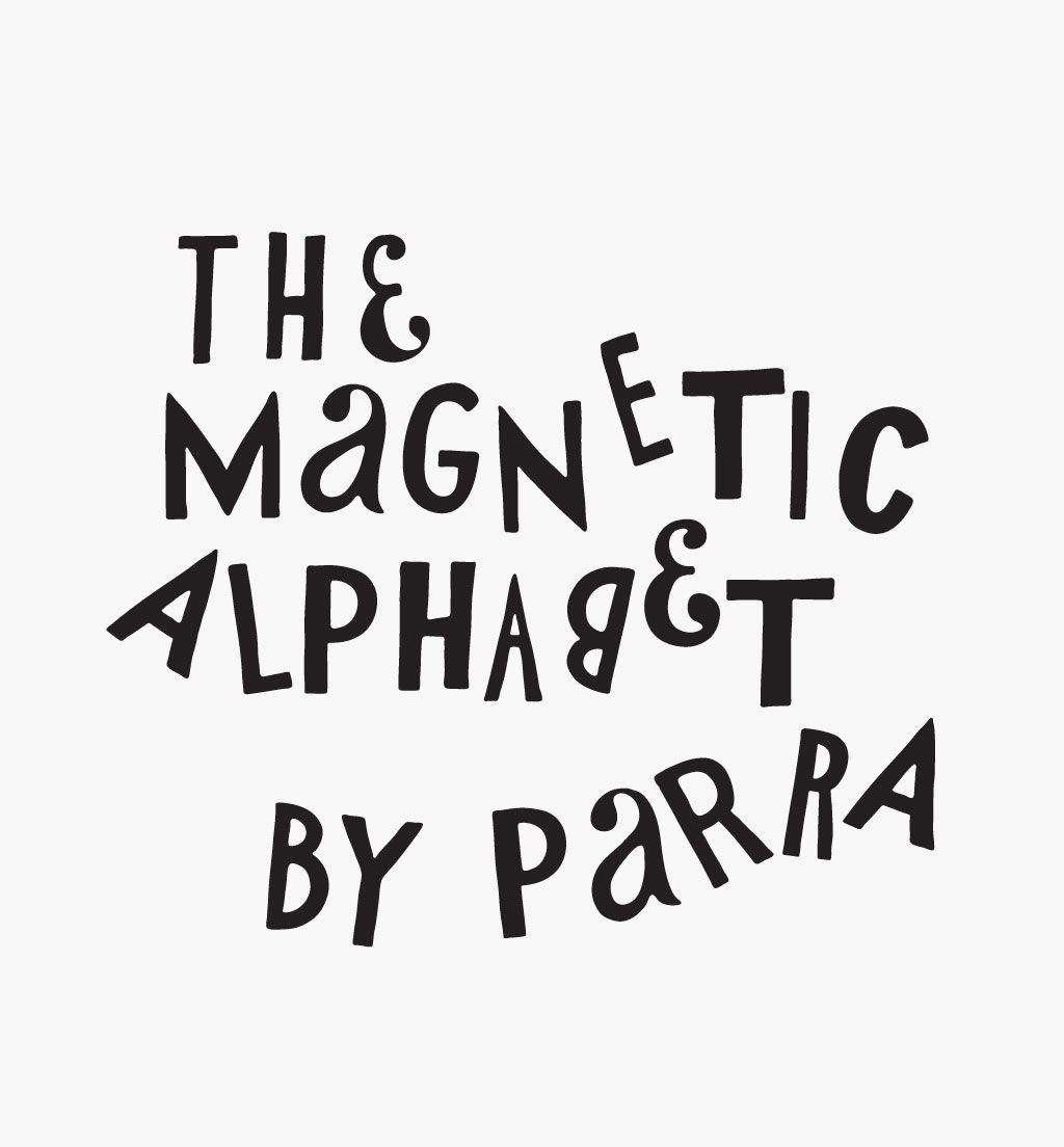 Magnetic Alphabet Letters By Parra   By Parra