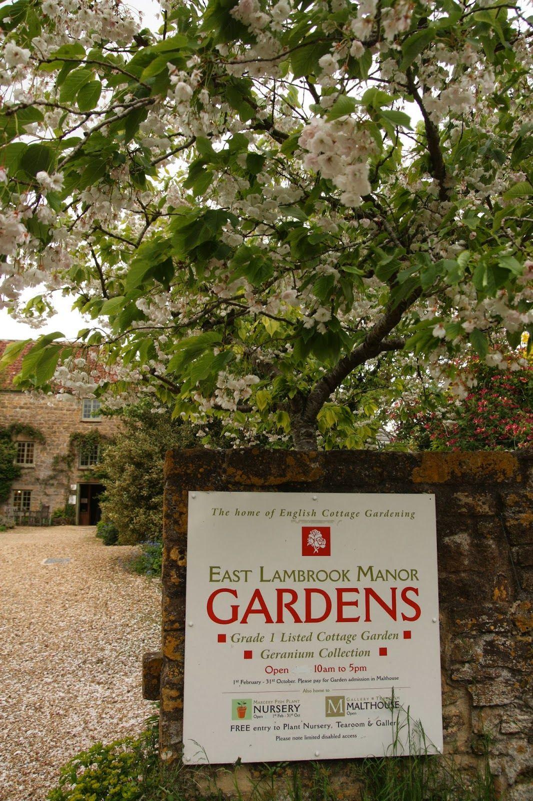 East Lambrook Manor Gardens, Somerset | English Garden | Pinterest ...