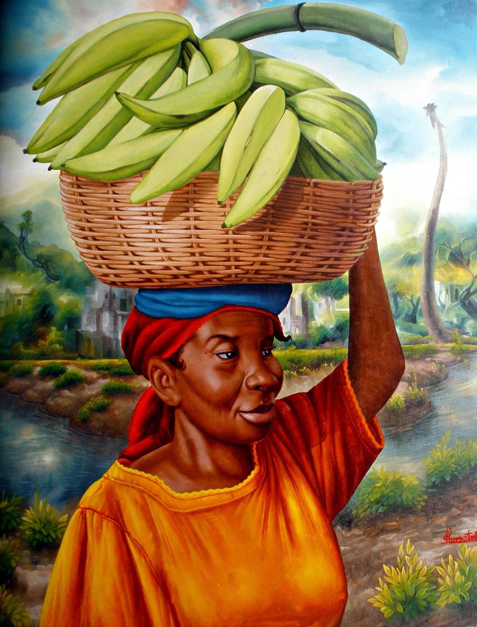 what Haitian Women represent, beautiful, strong ...
