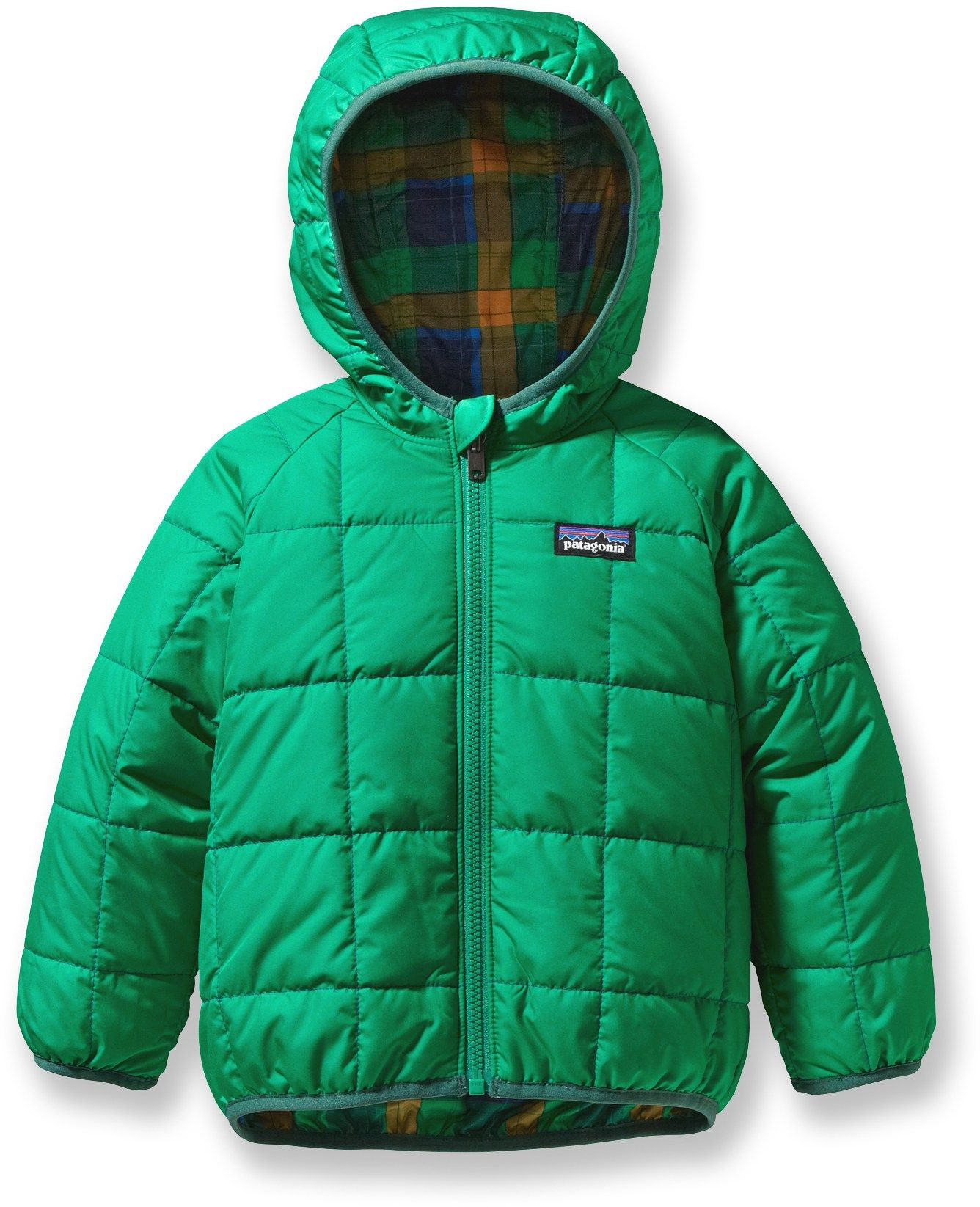 bf32d2664 Patagonia Baby Reversible Puff-Ball Insulated Jacket - Infant/Toddler Boys'  - Free Shipping at REI.com