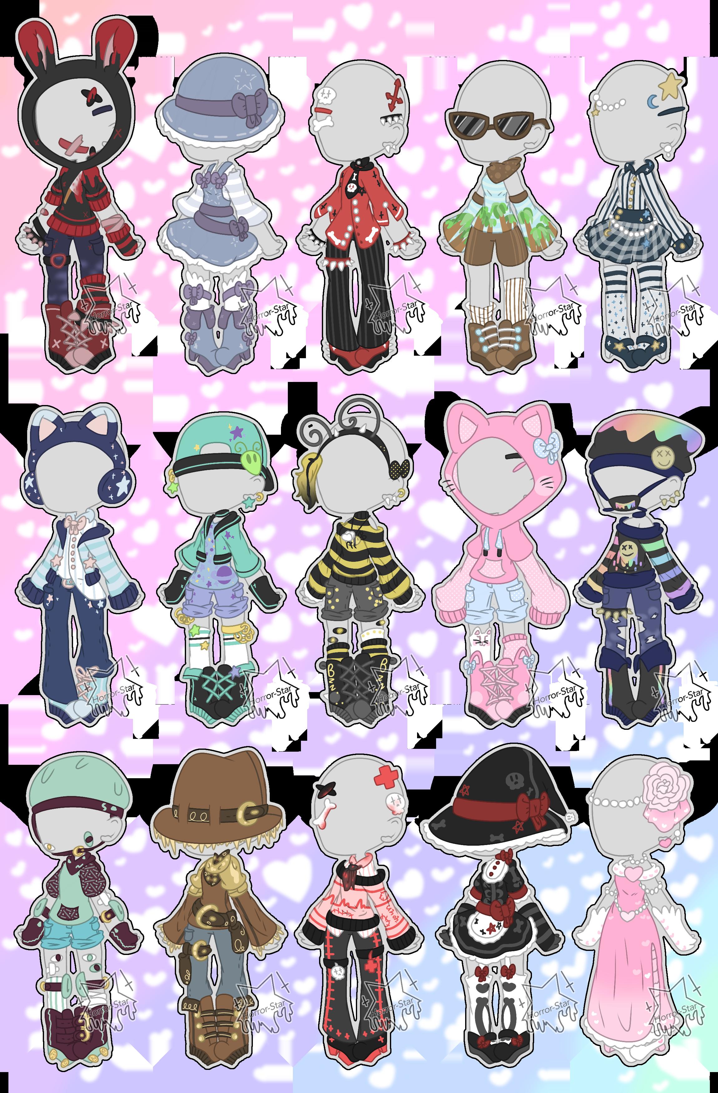 Like si te gustaría hacer estos trajes😍  Drawing anime clothes