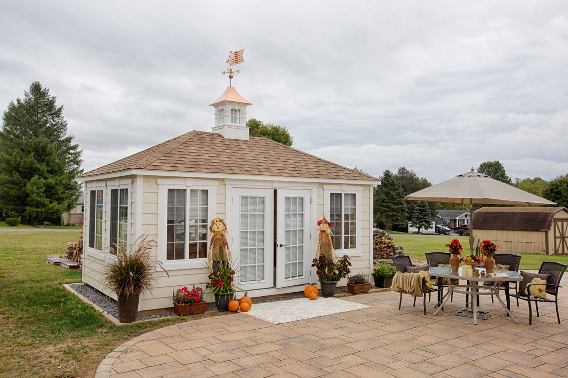 Vinyl Cabanas   Storage Sheds, Barns, Buildings | Mid Valley Structures