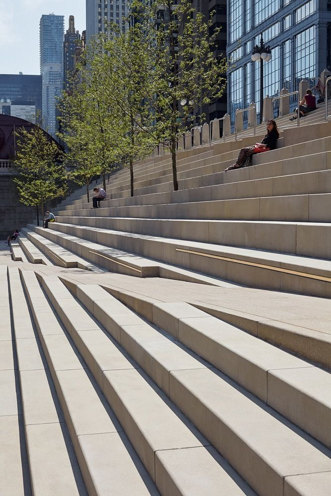 Gallery Of Chicago Riverwalk Opens To The Public Returning The