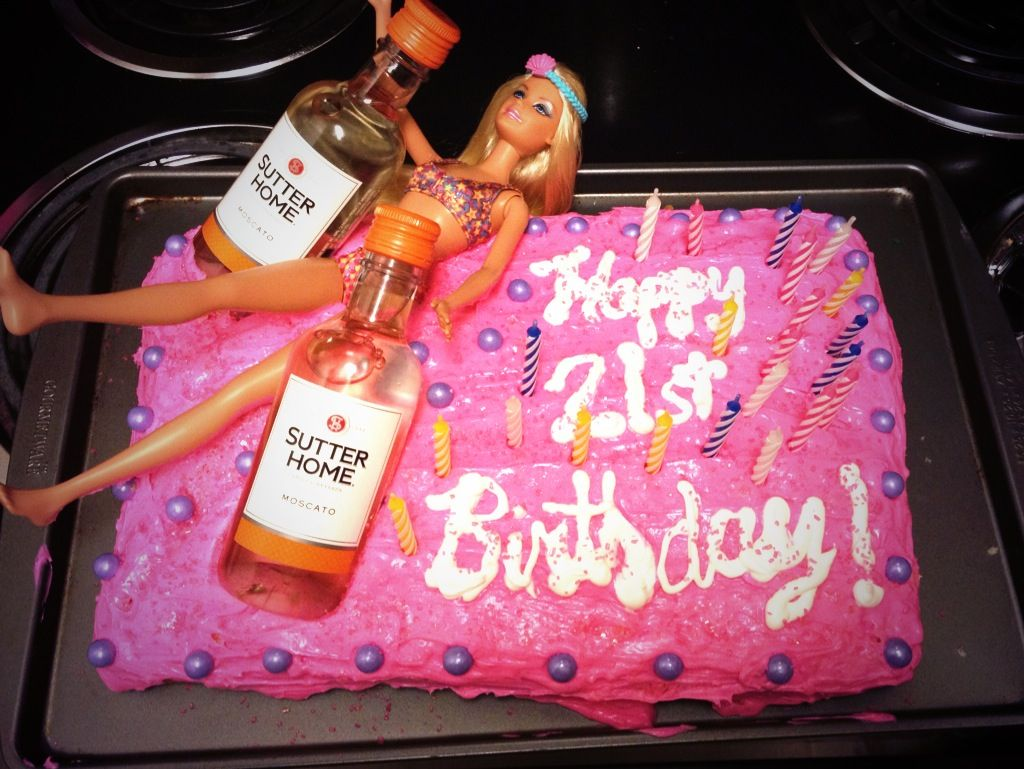 21st birthday Barbie cake | Just for fun :) | Pinterest ...