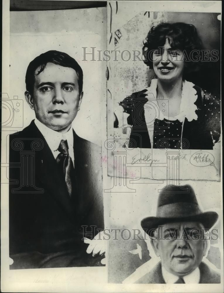 Evelyn Nesbit - 1924 Press Photo : Harry Kendall Thaw at Two