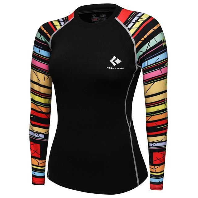 Women's Compression T-Shirt Quick-dry | Clothing | Long