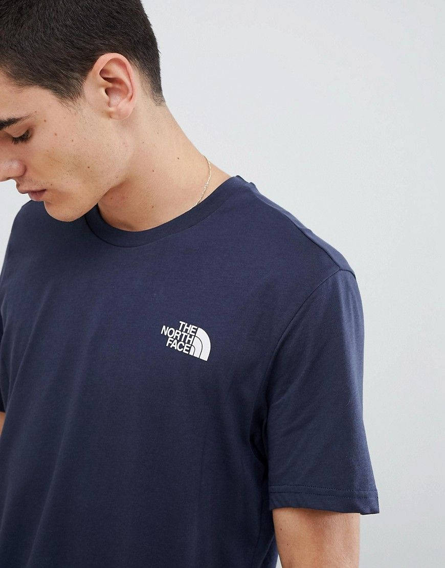 64aa18050 THE NORTH FACE SIMPLE DOME T-SHIRT IN NAVY - NAVY. #thenorthface ...