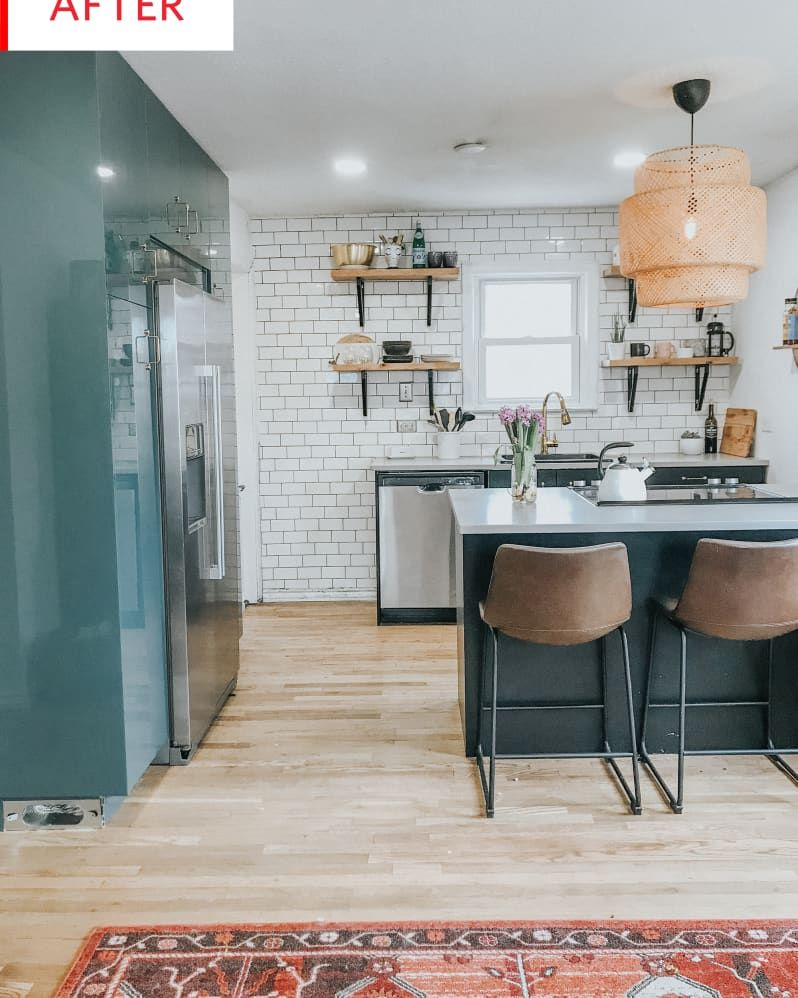 Before and After This NowStunning IKEA Kitchen Cost