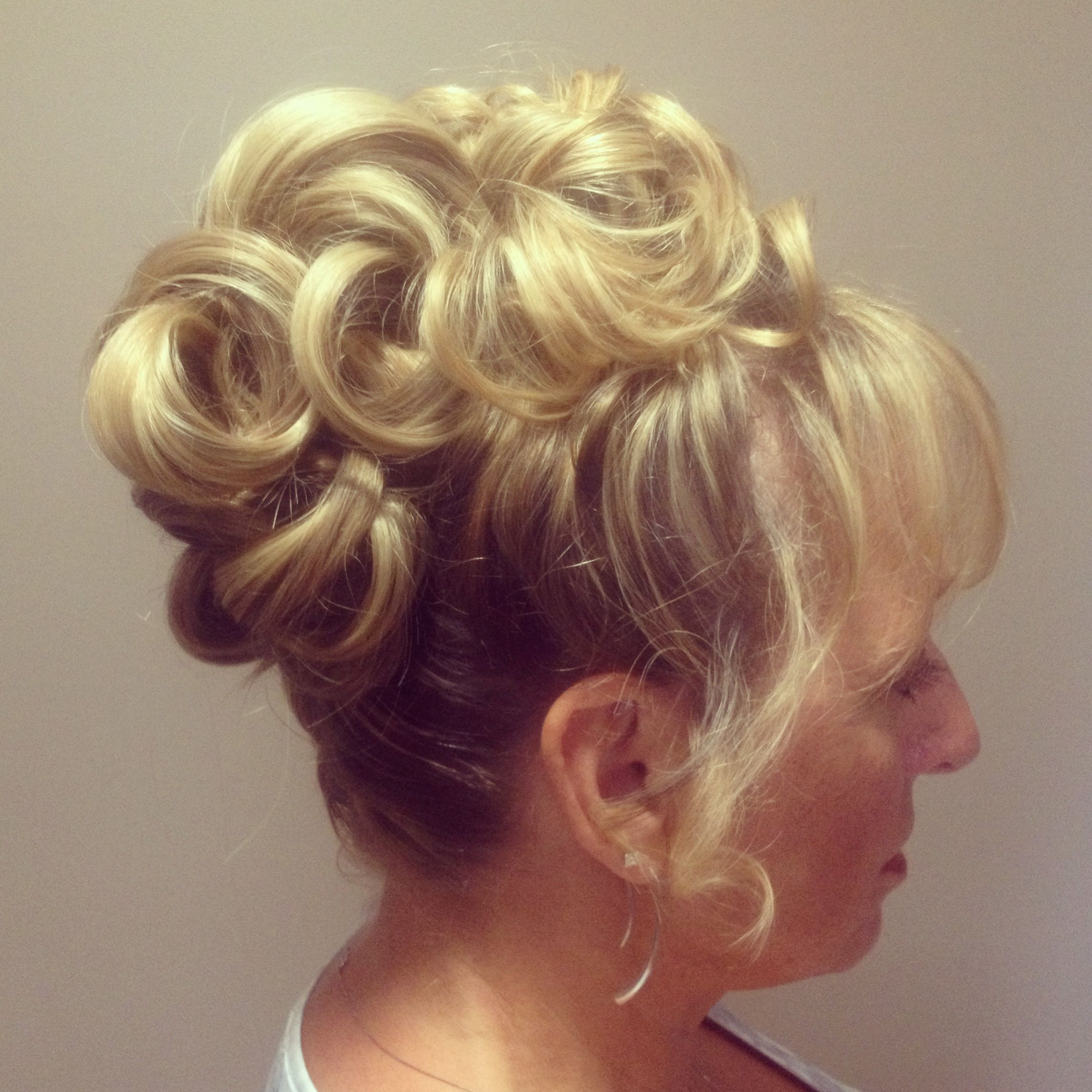 Mom Wedding Hairstyles: Mother Of The Bride Hair, High Updo