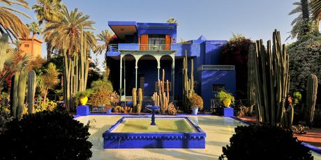 Style your home ala yves saint laurent it s all about for Jardin yves saint laurent maroc