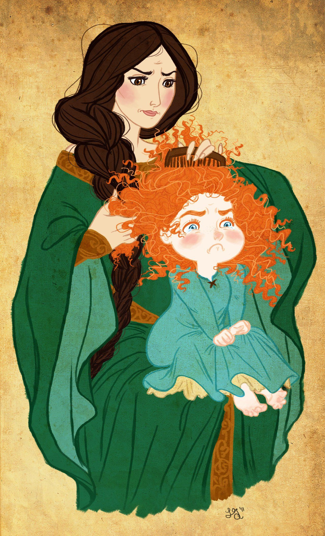 Don't Pull My Hair! by Lauren Greiner <---this was me and my mom all throughout my childhood!