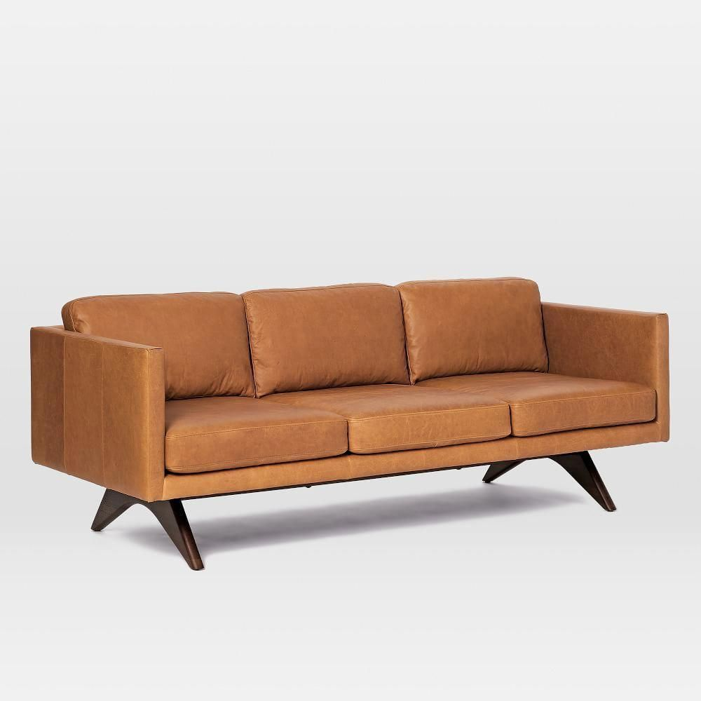 Brooklyn Down Filled Leather Sofa 81 Livingroomremodelingideas