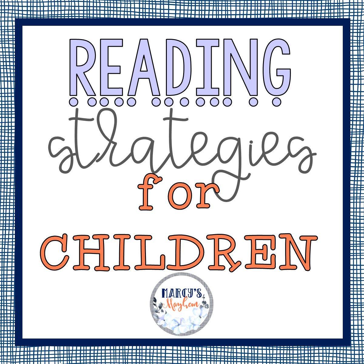 Reading Strategies For Children Image By Marcy S Mayhem