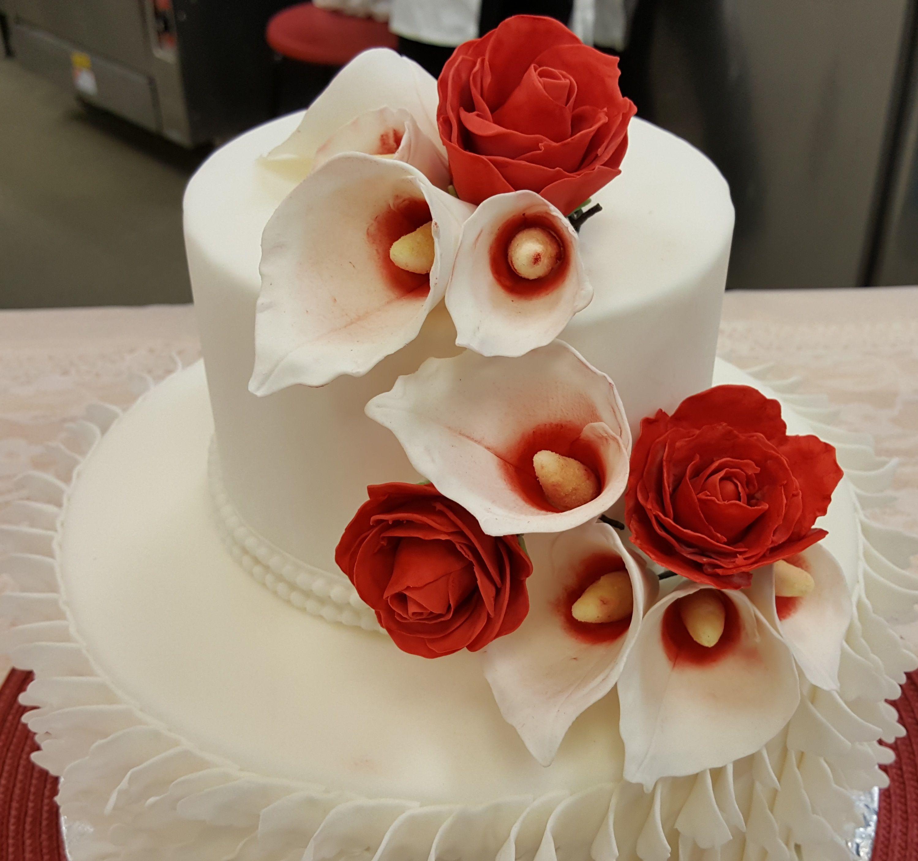 Chef chapmanus wedding cakes class spring wedding cakes