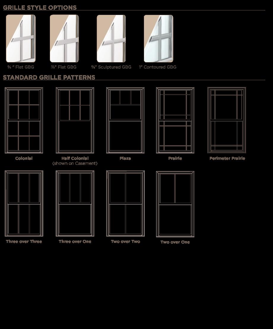 New Construction Windows Doors Ply Gem Residential Solutions Window Grids Window Construction Window Styles
