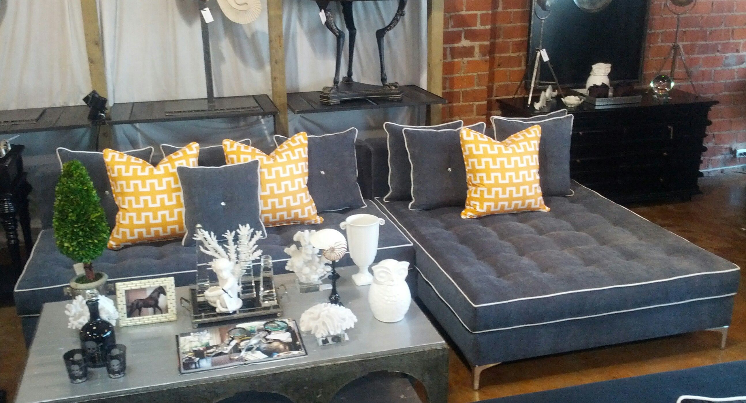 Make it your own by customizing the dimensions, and choose from our wide array fabric industrial quality textiles. Spice it up with accent pillows that POP ...