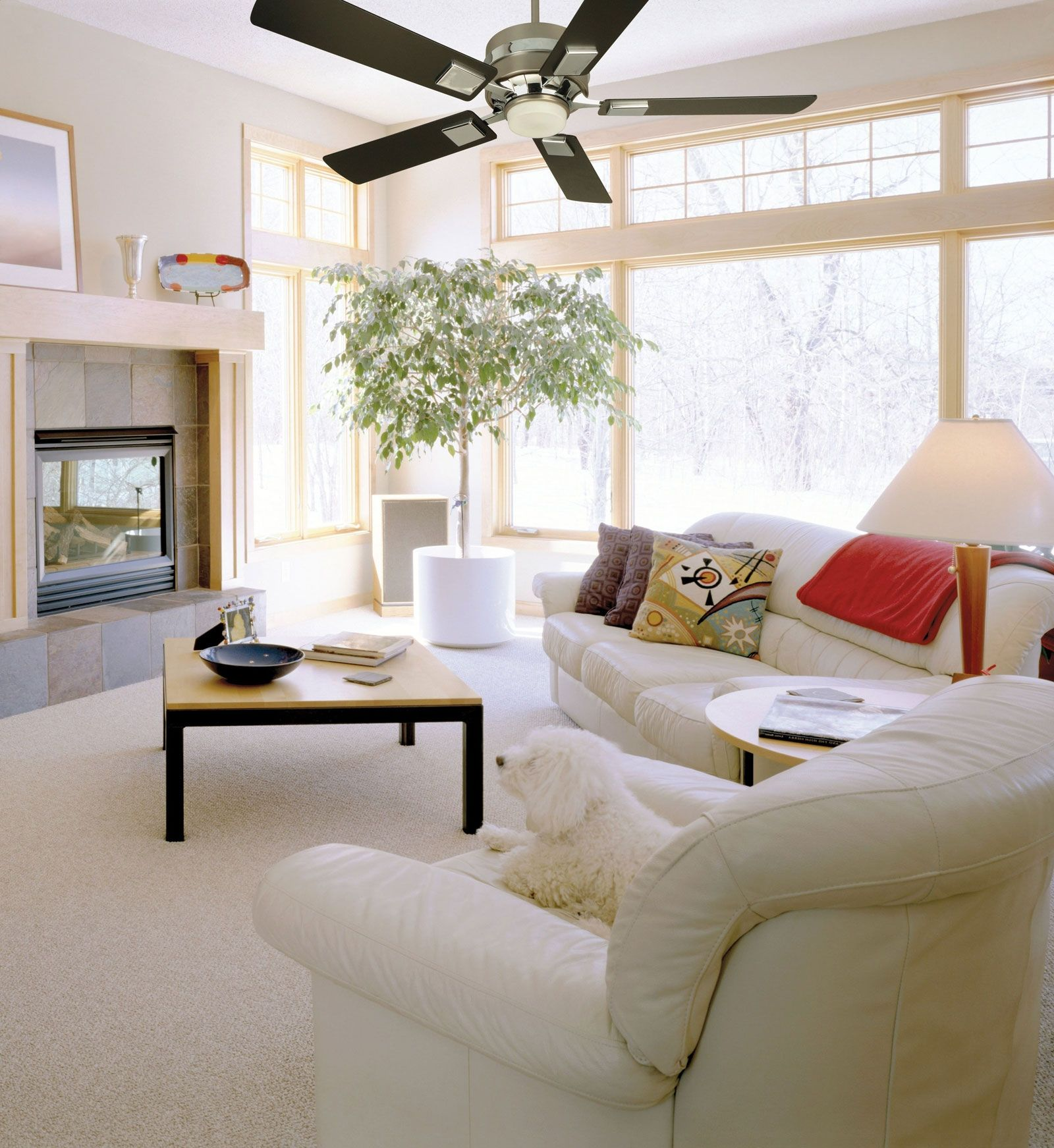 Room Contemporary Ceiling Fans For Small Rooms