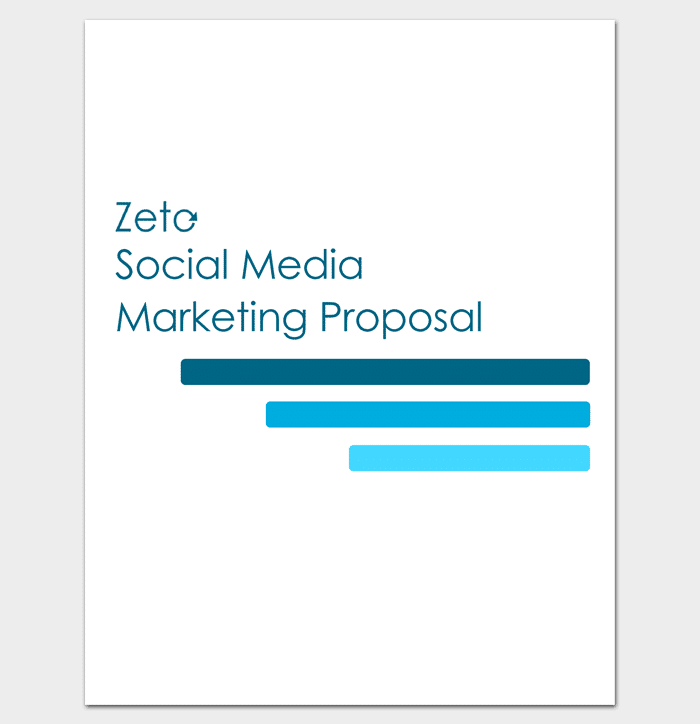 Marketing Proposal Template 6 For Word Pdf Proposal