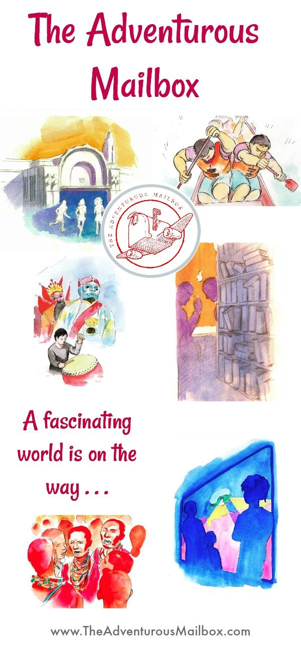 A world full of adventures heading your way the adventurous a world full of adventures heading your way world cultures delivered to your door publicscrutiny Choice Image