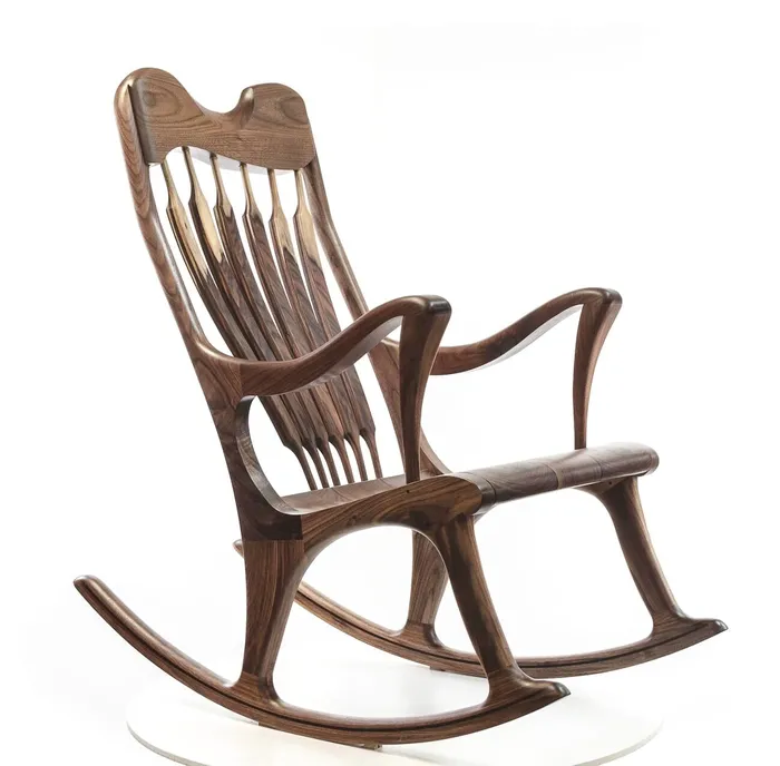 Ekko Chaise Bercante Fabrique Au Quebec Rocking Chair Antiques Chair
