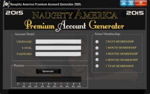 Free Naughty America Premium Account Generator