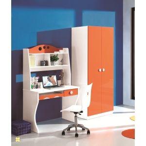 Kids Study Desk N Book Shelf: Orange