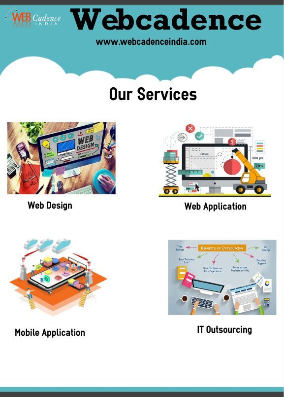 Webcadence Provides High Quality Website Design And Website Development Services In India Website Design Cool Websites Design Company