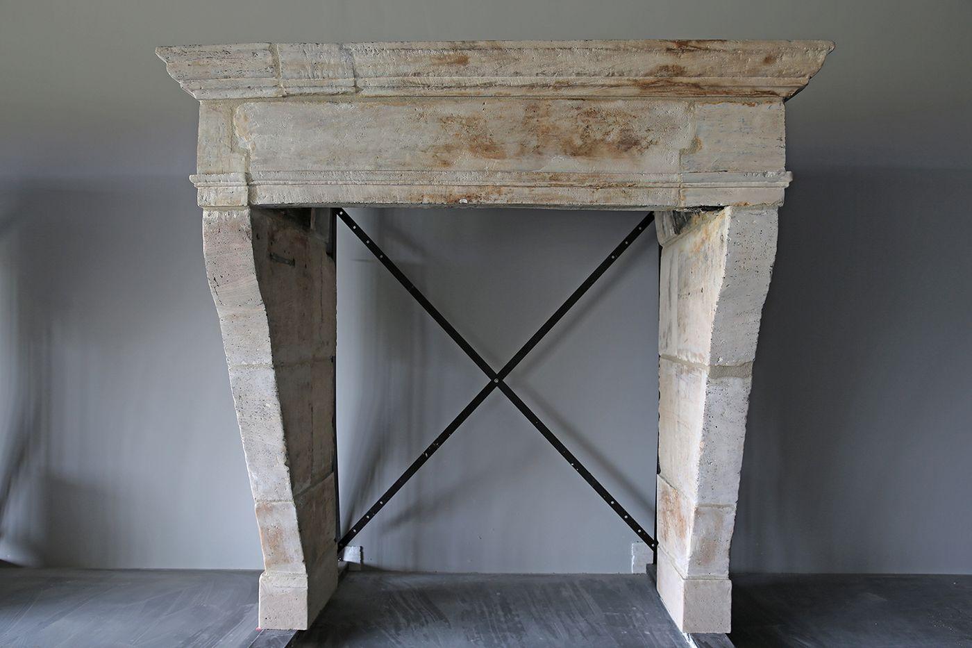 antike schloss kamine - antike französisch kalkstein kamine