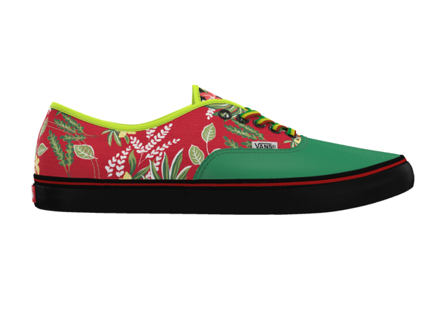 Check out this custom Vans Authentic shoe I made.