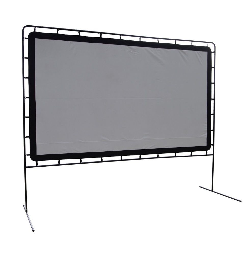 CAMP CHEF Indoor Outdoor Movie Screen 144 inch Entertainment Theater Wedding New