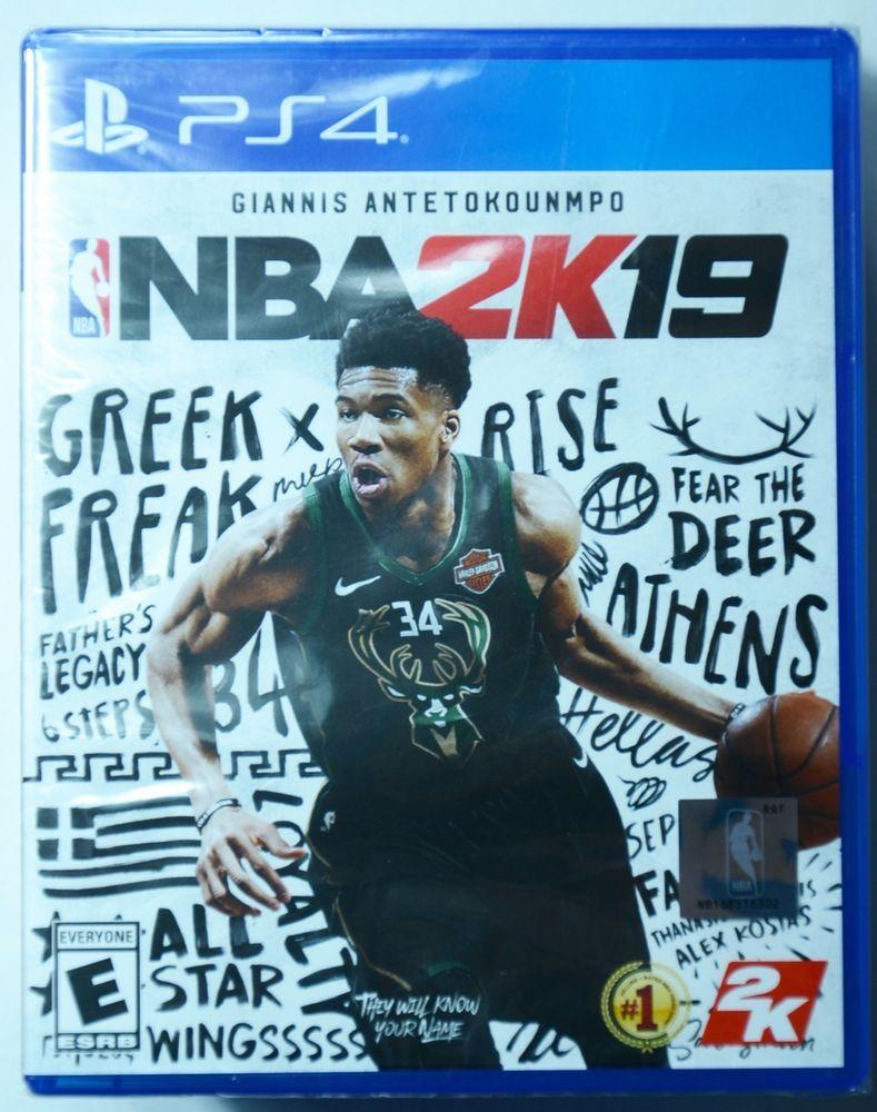 NBA 2K19 (Sony PlayStation 4, 2018) Brand New & Factory