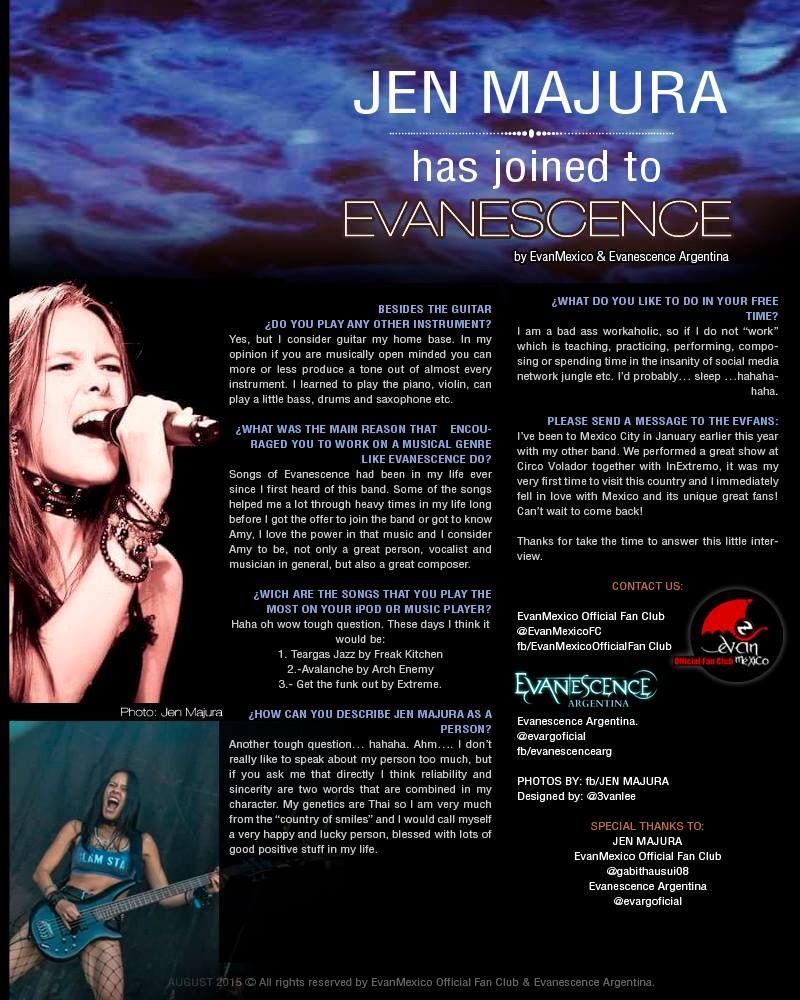 Evanescence 💀