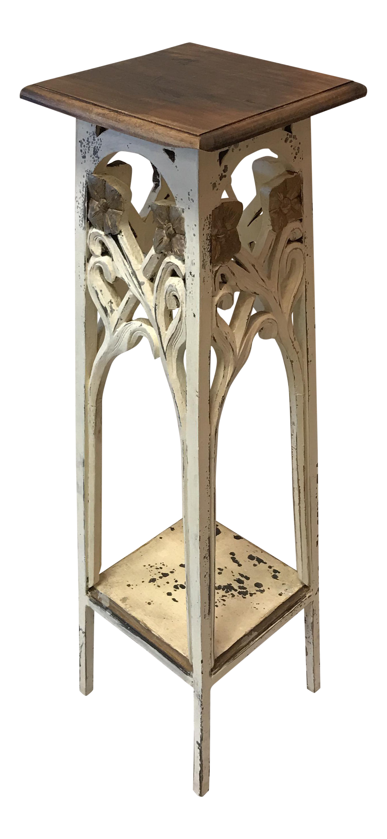Victorian Tall Plant Stand Indoor