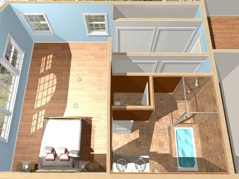 Master Bathroom Layouts With Bedroom Side ~ http://lanewstalk.com ...