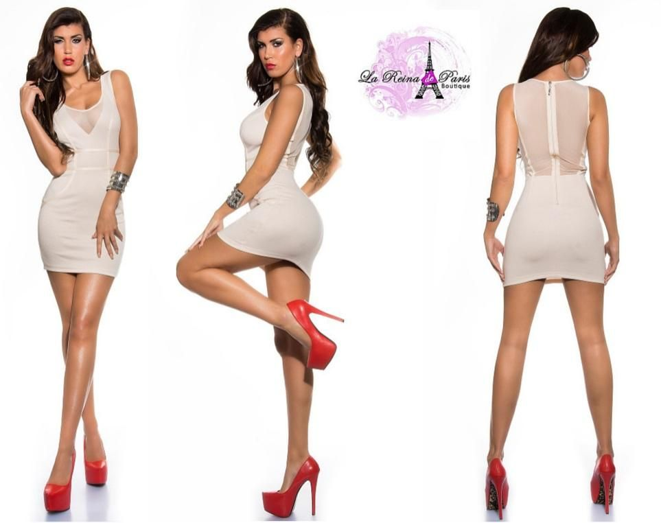 Vestido corto de moda diseño super star Sujet [2]