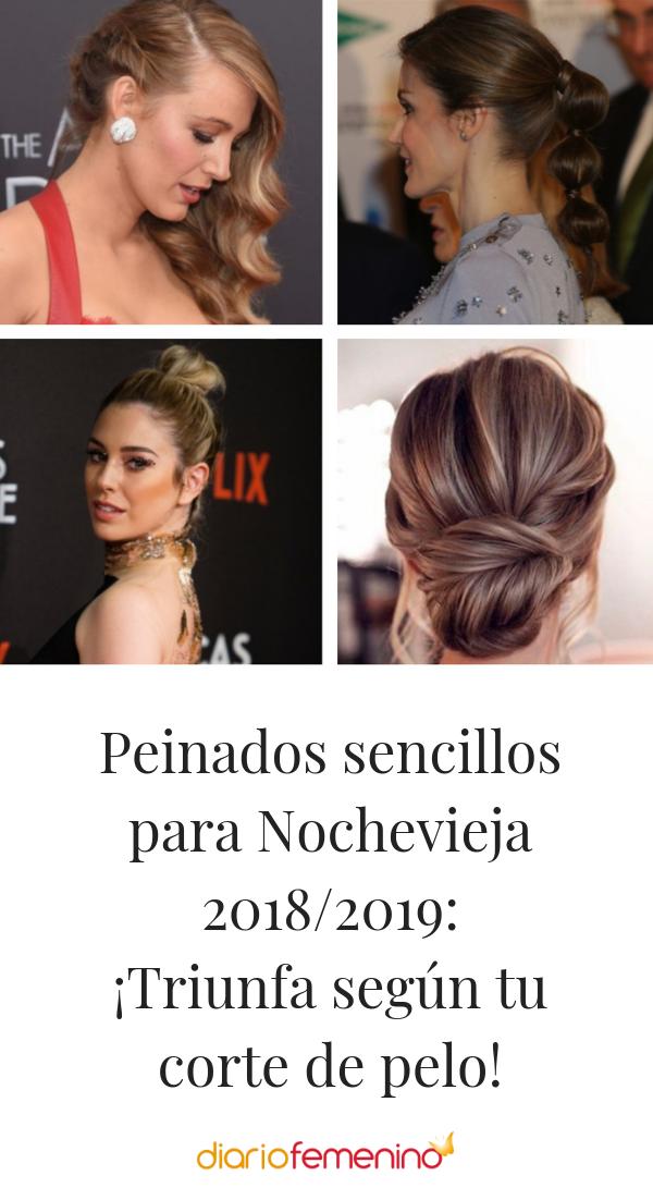 Peinados Sencillos Para Nochevieja 2018 2019 Triunfa Segun Tu