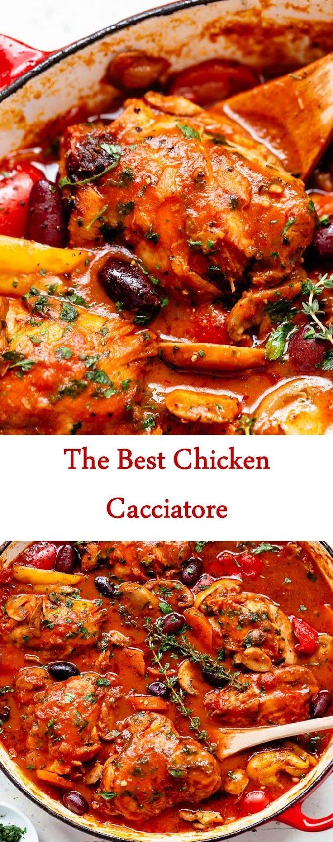 The Best Chicken Cacciatore Cacciatore Recipes Chicken Cacciatore Recipe Chicken Recipes