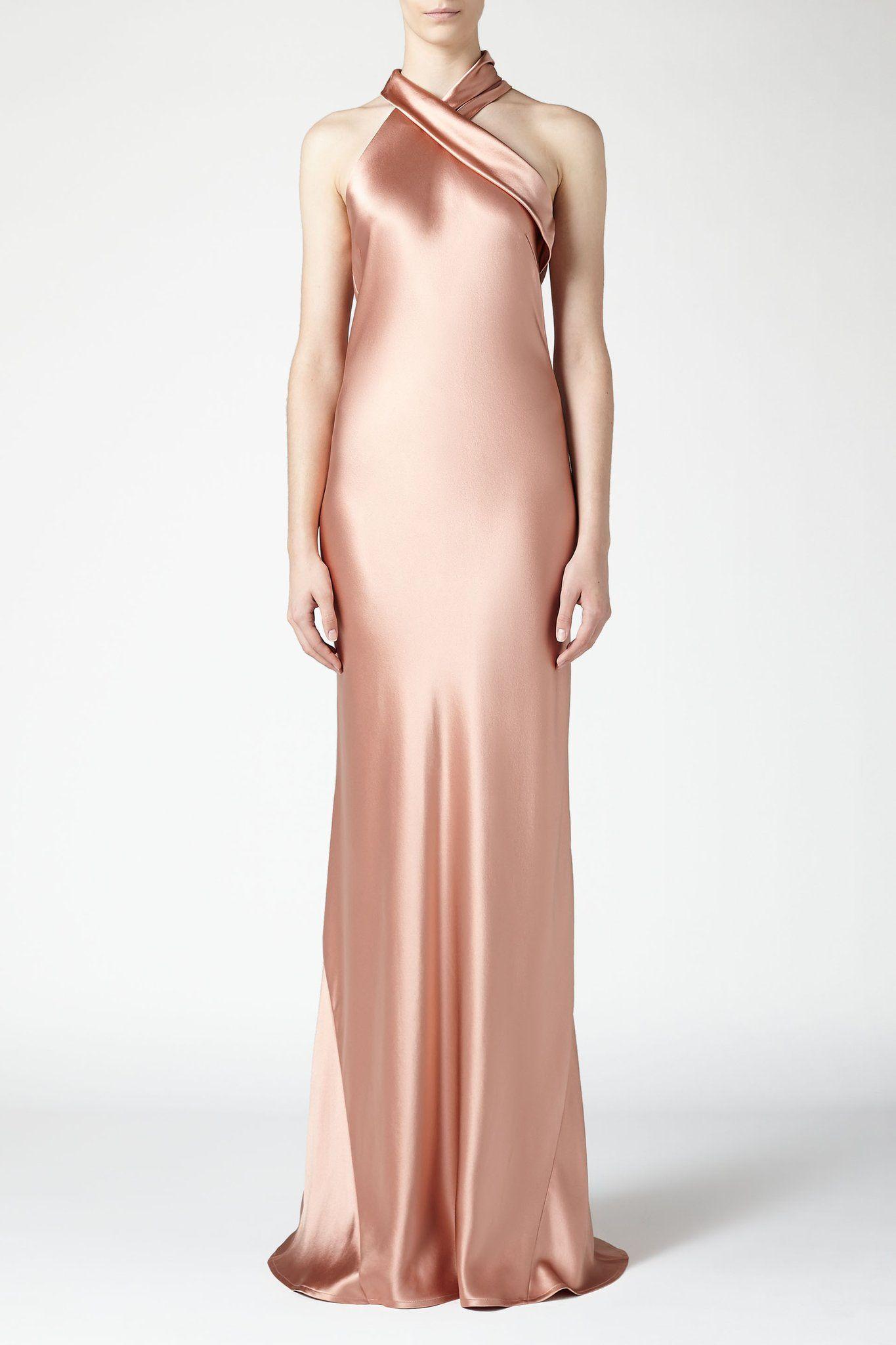 a349cd5b529 Pandora Dress - Rose Gold – Galvan London