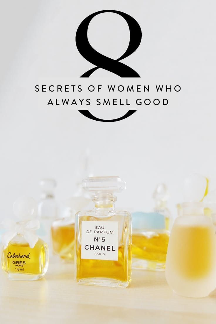 8 Secrets of Women Who Always Smell Good via @PureWow