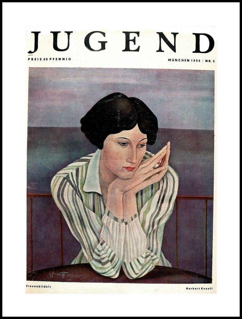 illustration of Jugend Magazine (1934) by unattributed artist (Michael)