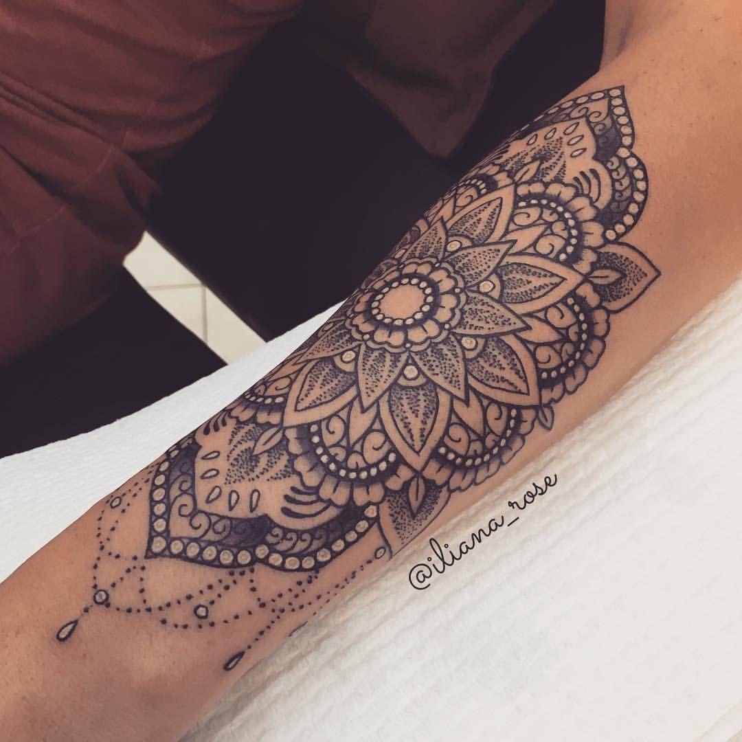 49 Unique Arm Tattoo Designs For Girls   Tattoo, Grey and Mandala - Tattoo Unterarm Klein