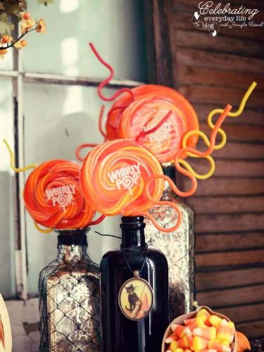 10 Scary-Sweet Ways to Decorate With Halloween Candy Halloween - ways to decorate for halloween