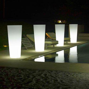L\'éclairage extérieur, le secret d\'un beau jardin | Pinterest ...