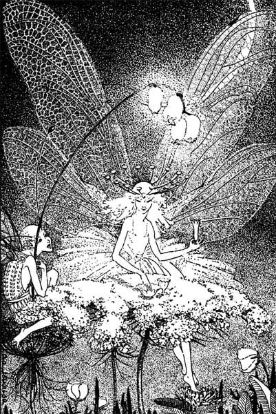 Down-Adown-Derry, A Book of Fairy Poems by Walter De La Mare, Illustrated by Dorothy P. Lathrop