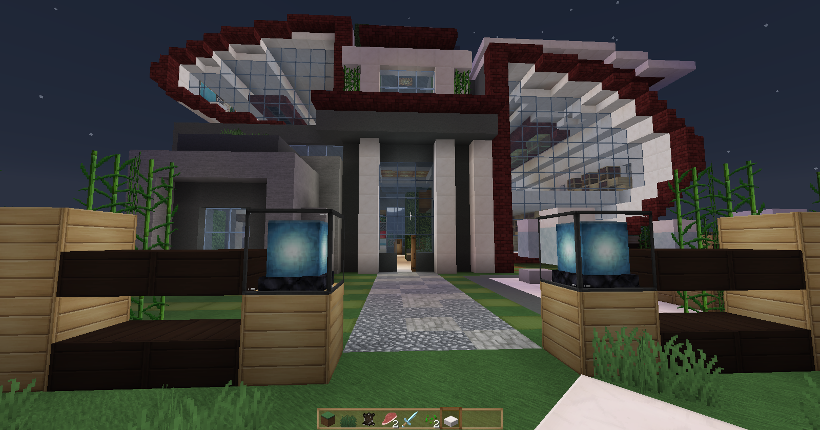 Minecraft casas modernas buscar con google ideas para for Casas minecraft planos